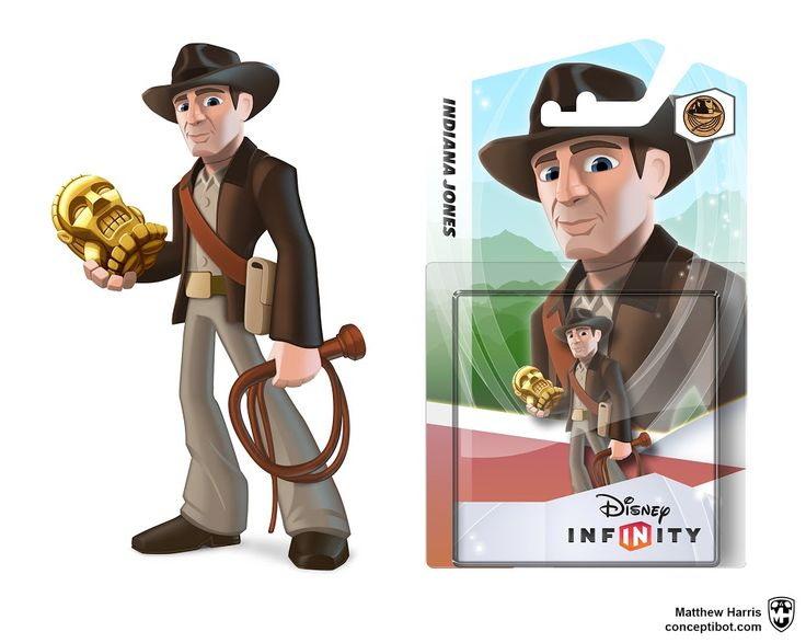 Disney Infinity Indiana Jones                                       Matthew Harris ~ Concept Artist