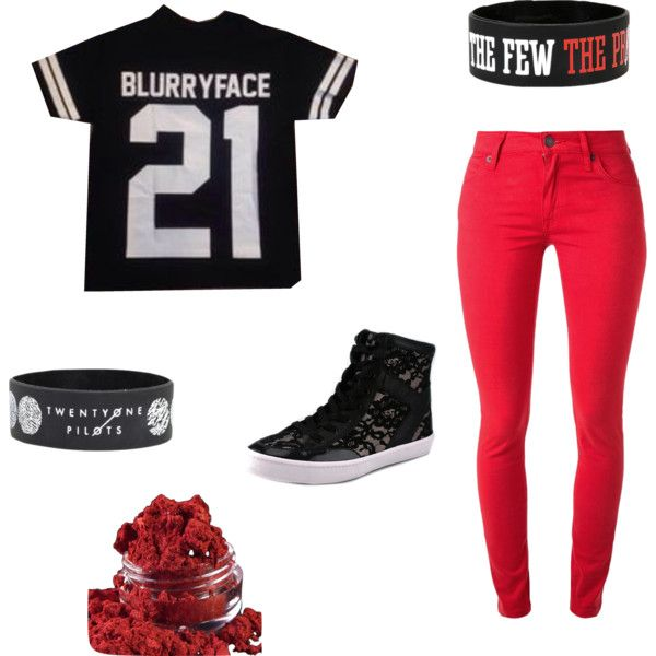 Twenty One Pilots, #4 by consumingfyr on Polyvore featuring картины