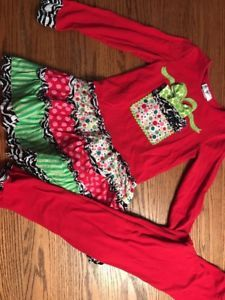 Emily Rose Girls Size 7 Christmas, Holiday Outfit 2 Piece  | eBay