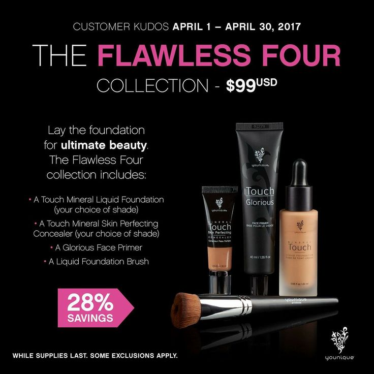 Huge savings with these four products! Only $99 for the April kudos, to order go to www.youniqueproducts.com/SamanthaAcuna for every one I get sold I will mail you a free surprise product!