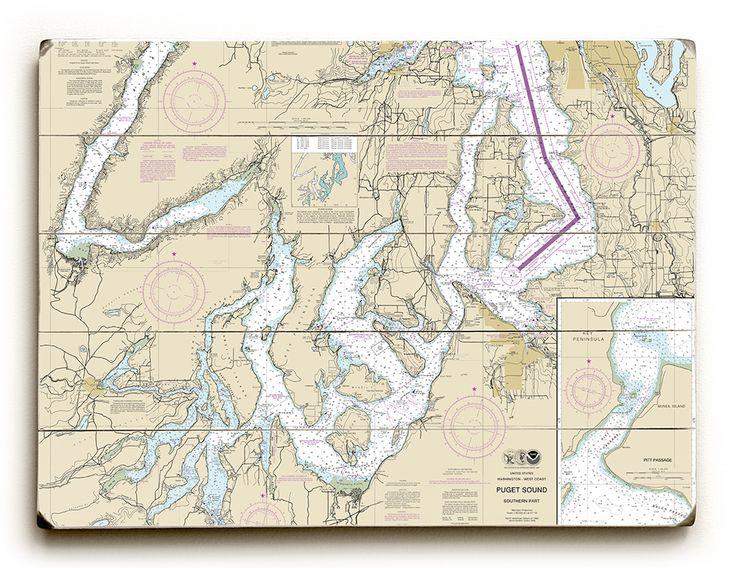 Pin on island girl home nautical chart signs