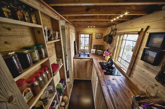 awesome tiny kitchen