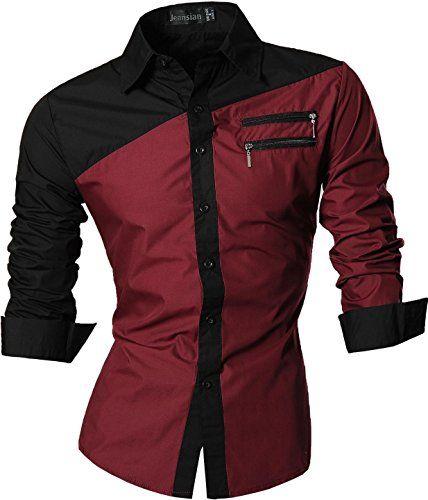 jeansian Men's Slim Fit Long Sleeves Casual Shirts Z015 WineRed L jeansian http://www.amazon.com/dp/B00P0R2YGG/ref=cm_sw_r_pi_dp_9coGwb0DQNWQJ