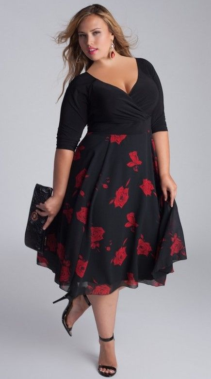 Summer dress for wedding plus size