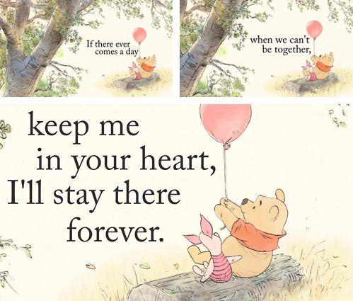 We know about Piglet and his fears, he has Pooh bear, which is again so wonderfully super nice. Description from autumn-sunshine.net. I searched for this on bing.com/images