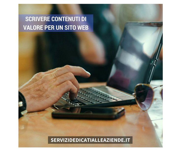 Il ruolo di un #contentwriter è quello di scrivere #contenutidivalore per le persone.