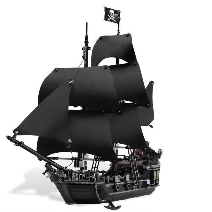 804Pcs Pirates of The Caribbean The Black Pearl Ship
