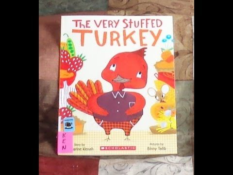 THE VERY STUFFED TURKEY Children's Thanksgiving Read Aloud Along Story Book