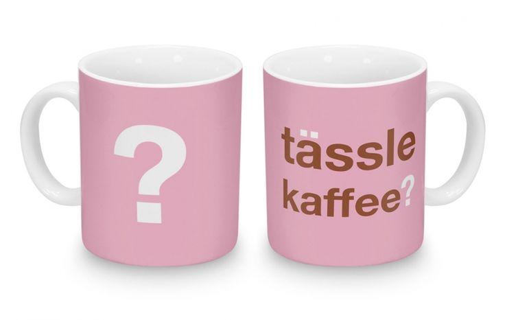 "Tässle is Swabian for ""Tasse"" and Kaffee, well, that's just Kaffee. :)"