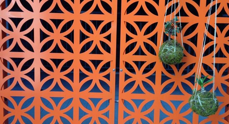 Modern Decorative Outdoor Screen