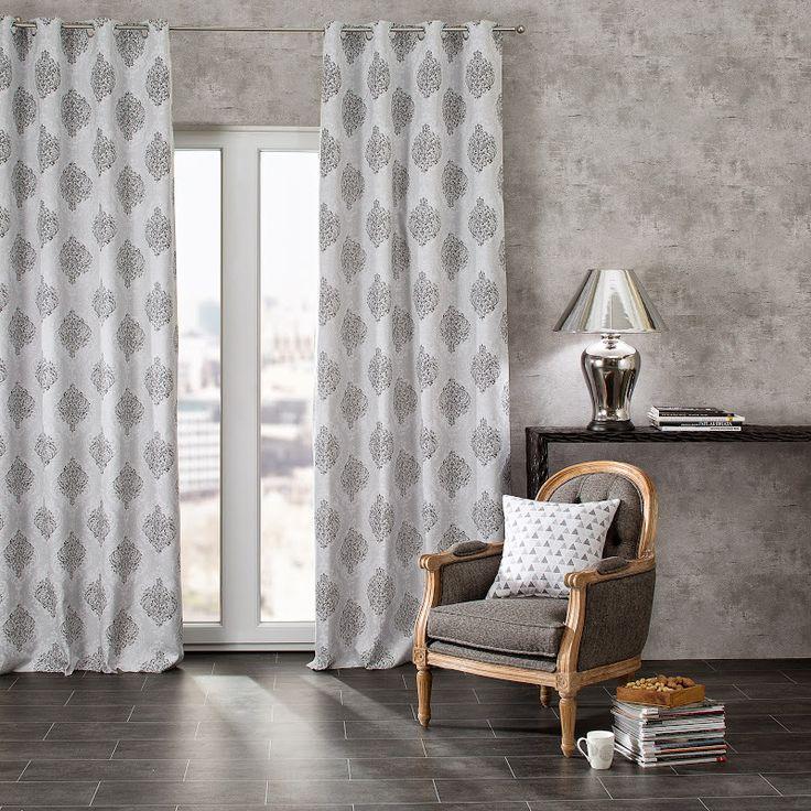 cortinas estampados geometricos ideas