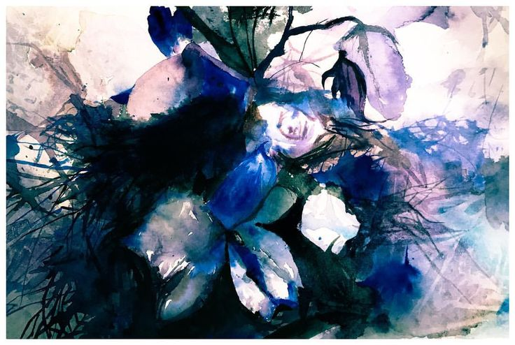 Wild Flowers #instagood #waterblog #aquarelle #watercolor #painting #art #artwork #instagood #artist #watercolorart #watercolourart #style #artoftheday #inspiring_watercolors #scene #watercolourpainting #watercolour #painting #artist_4_shoutout #artdesires #abstract #flowers #pretty #sketch #color #colour #purple #instaartist #blue #vibrant