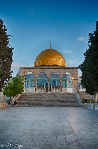 Dome of the Rock on the Temple Mount in the Old City of Jerusalem