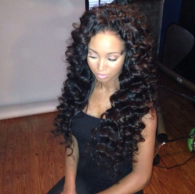 376 Best Images About Flawless Hair Curled Styles Weave