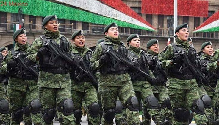 Desfile Militar conmemorativo al 'CCVII' Aniversario del Inicio de la Independencia de México