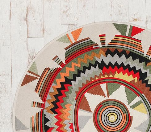 American Indian inspired decorating