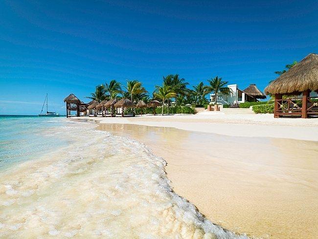 Azul Beach resort- really good and fancy food