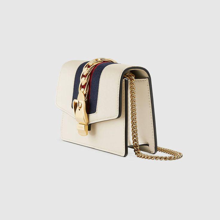 Gucci Sylvie leather mini chain bag Detail 4