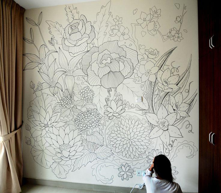 Best 25+ Murals ideas on Pinterest Paint walls, Bedroom murals - artistic wall design