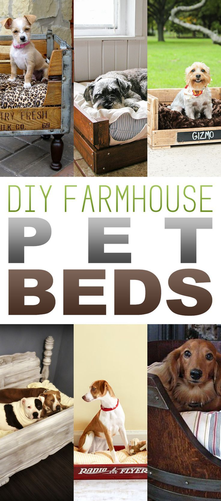 1649 best pet projects images on pinterest cats pets and baby kittens diy farmhouse pet beds solutioingenieria Images