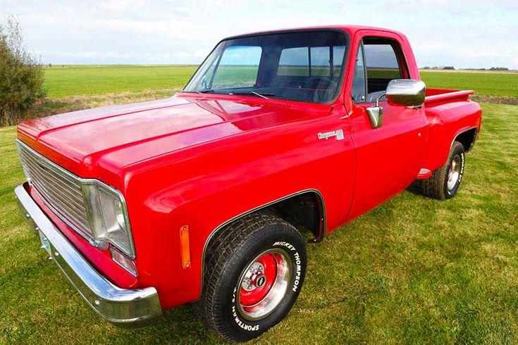Chevrolet Cheyenne Stepside C10 V8 Big Block 1975 – CCC