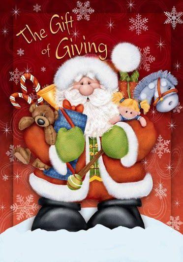 Santa - gift giving.