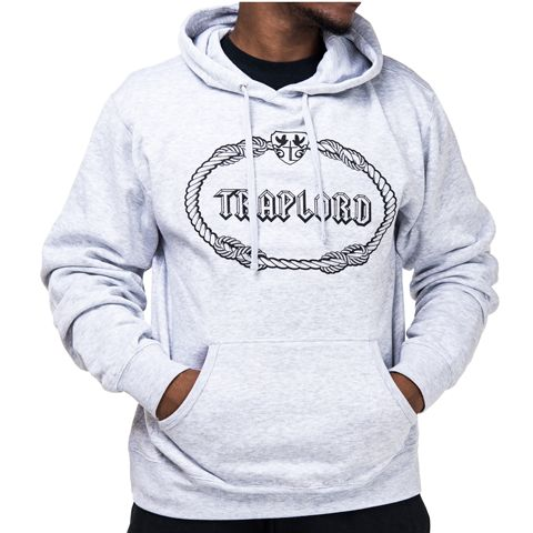 Gray Classic Traplord Hoodie | ASAP Ferg | Trap Lord