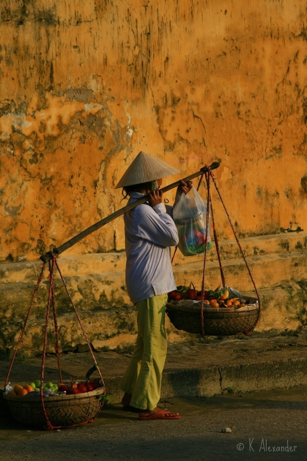 Market Baskets in Hoi An Old Town, a Unesco World Heritage Site. (Hoi An -- on bucket list)