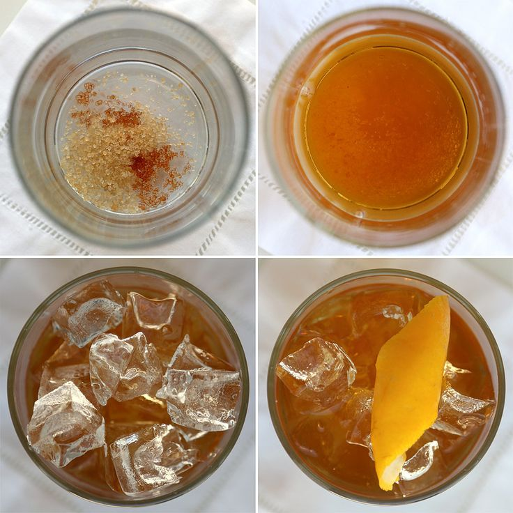 It may sound off-puttingly simple, but I think you'll be surprised at how complex this old fashioned tastes. If you have simple syrup made, you can use that instead of the water and sugar, but either one works. As a great showcase for bourbon, it would make an ideal drink for a Kentucky Derby party.