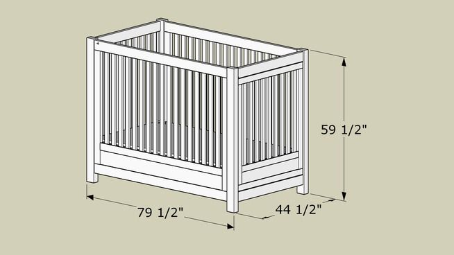 Twin size crib for special needs child plans Crib