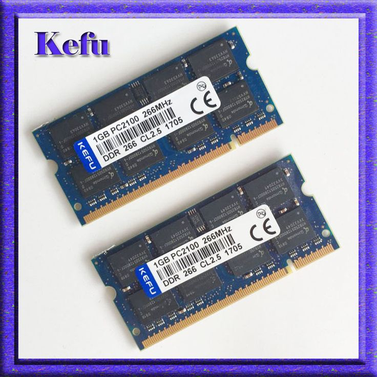 2x1GB PC2100 DDR266 ddr266mhz 200PIN SODIMM Laptop MEMORY 1G 200-pin SO-DIMM RAM DDR Laptop Notebook MEMORY Free Shipping #Affiliate