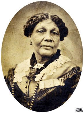 Mary Seacole 1805 - 1881. Jamaican nurse - nursed wounded on both sides in the Crimea War
