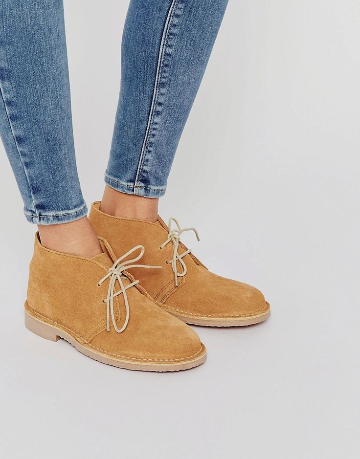 Image 1 ofPark Lane Tan Suede Desert Boots