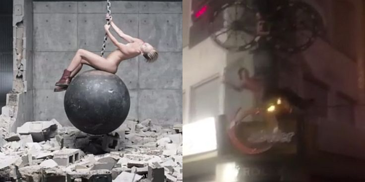 Miley Cyrus Wreckingball in Wuppertal!? WreckingTal Cover