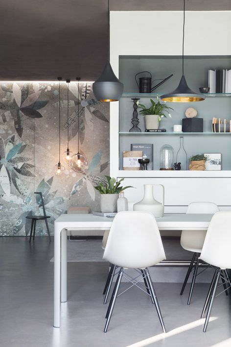 Modern Interior with simple furnish / Casa Think , Milan, 2016 - Studio Tenca & Associati