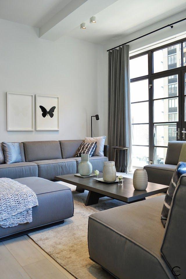 In een prachtig gebouw uit 1917 bevindt zich dit appartement 'Huys' in New York. Piet