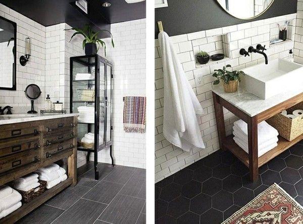 1083 best Badezimmer Ideen u2013 Fliesen, Leuchten, Möbel und - holz boden und decke modern interieur
