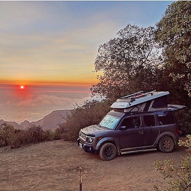 Honda Element Micro Camper //
