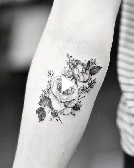 Flower tattoo tumblr little Justin Dion