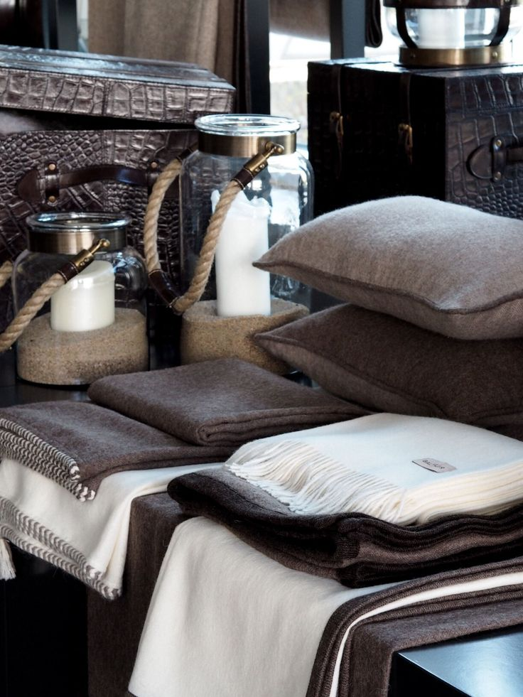Shades of brown, Balmuir textiles and lantern collection available at www.balmuir.com/shop
