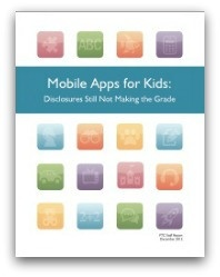 Mobile Apps for Kids Collecting and Sharing Information with Third Parties