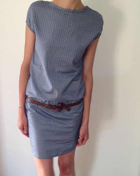 Tuto couture Robe Femme Handmade Coupe droite Nantes