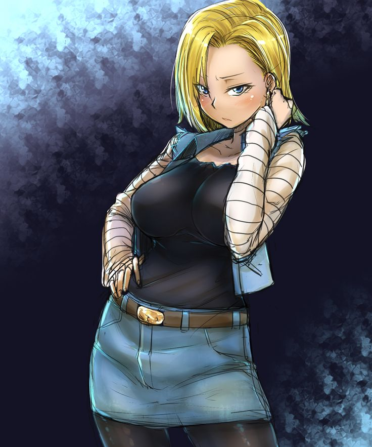 Dbz Ecchi Girls Wallpaper For Android Android 18 Android 18 By Bakuya This Isn T Even My