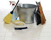 Liste pour nettoyage de printemps