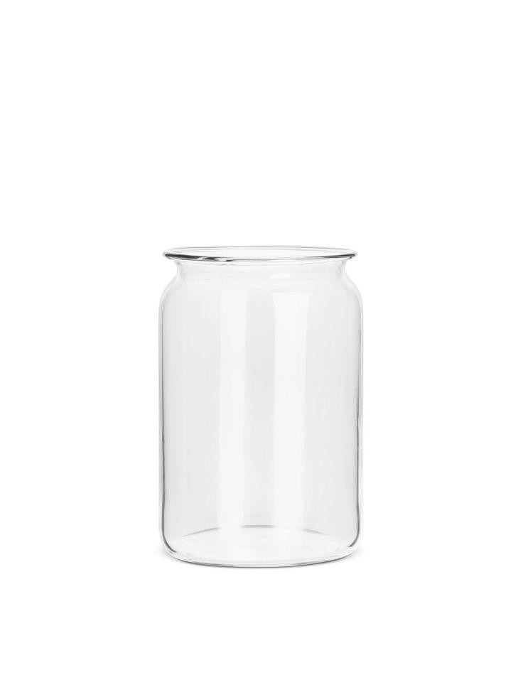 Medium Jar Vase - Clear - Home - ARKET SE