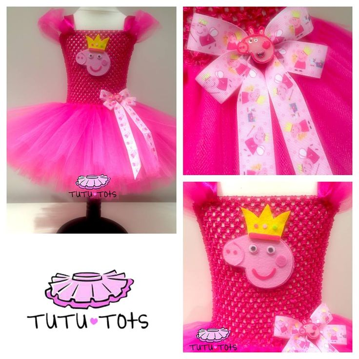 Peppa pig tutu dress from tutu tots