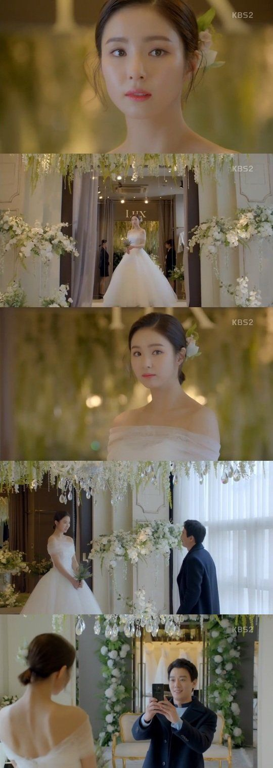 "[Spoiler] ""Black Knight"" Shin Se-kyung in a Wedding Dress"