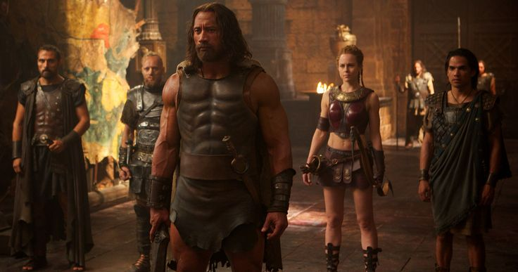 Dwayne Johnson must rely on his team of longtime companions to defeat evil as seen in the latest Hercules footage.