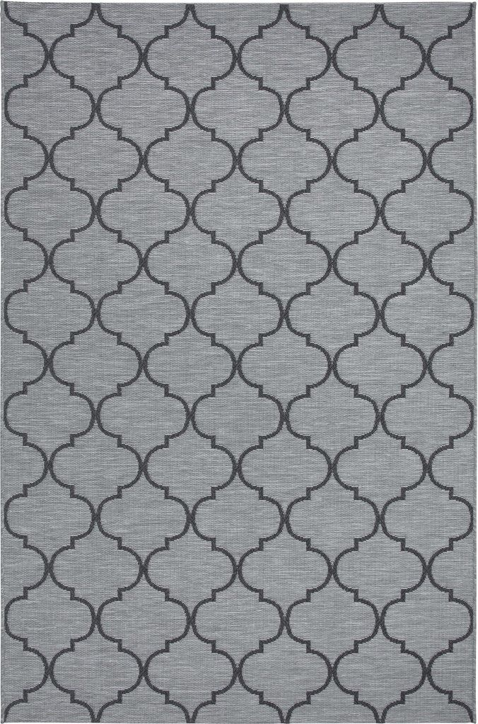 Zoe Grey Traditional Pattern Outdoor Rug By Sitap Outdoor Carpet