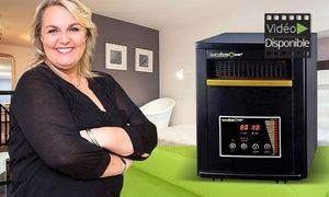 Groupon - Chauffage mobile tri-technologie Quartzecopower recommandé par Valérie Damidot à 119,90€ (50% de réduction). Prix Groupon : 119,90€